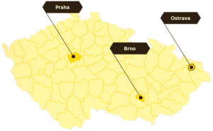Mapa působnosti