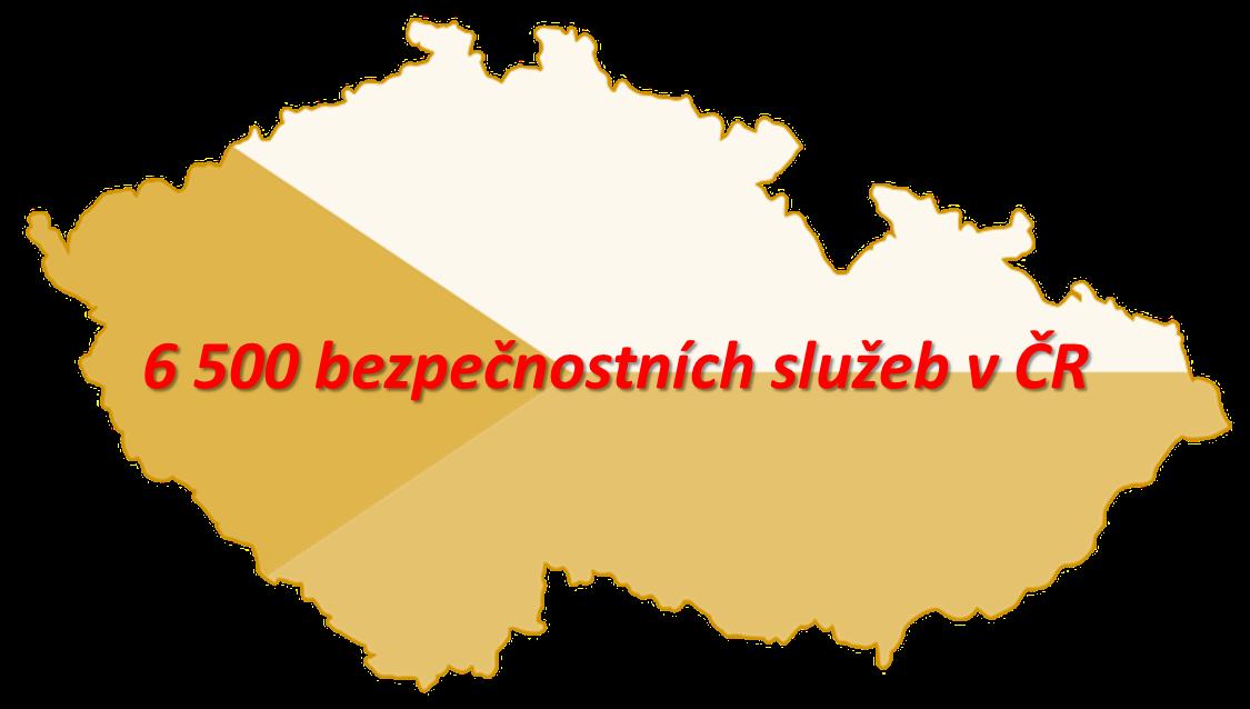 V ČR je 6 500 bezpečnostních služeb